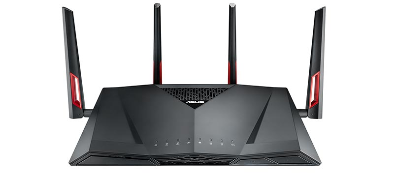 ASUS RT-AC88U AC3100 Dual-Band Wireless Router - Top Notch WiFi Routers of 2017