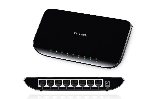 TP-LINK 8-Port Gigabit Ethernet Desktop Switch (TL-SG1008D)