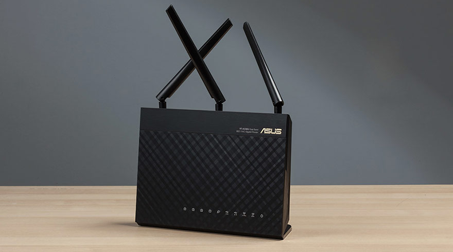 ASUS AC1900 - Budget Dual-band wireless router for DD-WRT