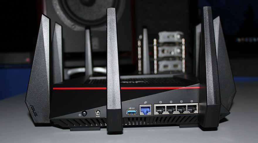 ASUS AC5300 - High-Powered wireless router for DD-WRT firmware